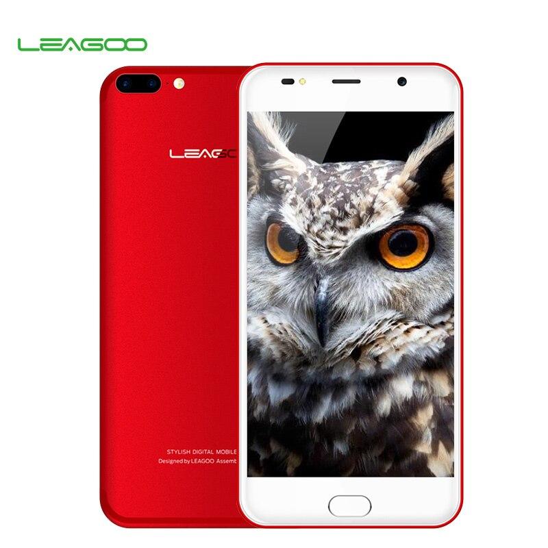 bilder für LEAGOO M7 5,5 Zoll Android 7.0 Smartphone 1 GB RAM 16 GB ROM MT6580A Quad Core 3000 mAh Dual Zurück Kamera Fingerprint Handy