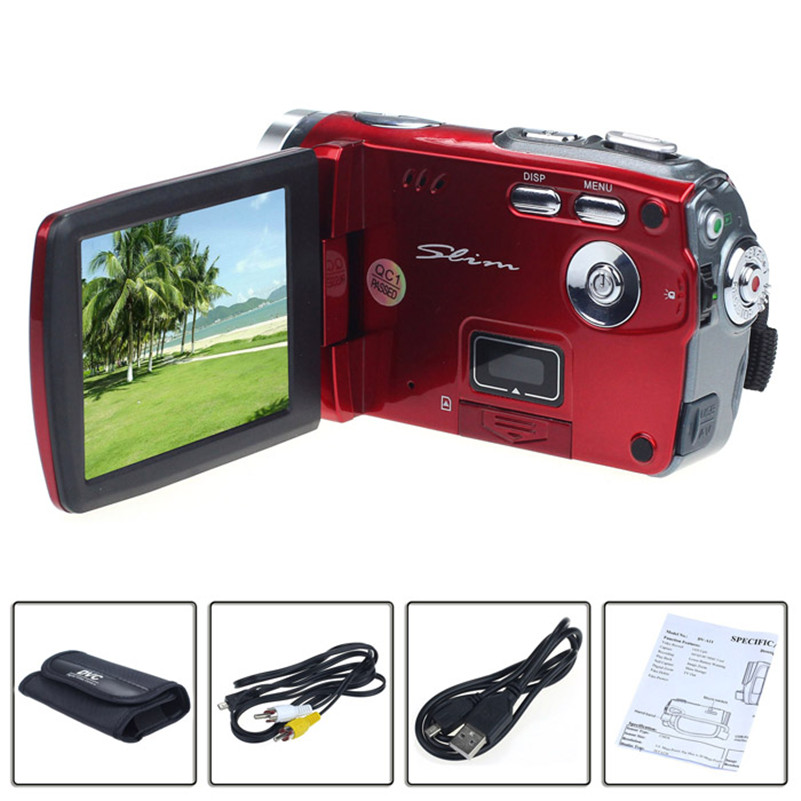 3In TFT LCD 20MP Digital Video Camcorder 16x Digital Zoom DV Camera RD 5 0mp digital video camcorder w 4x digital zoom motion detection hdmi sd slot 2 5 tft lcd