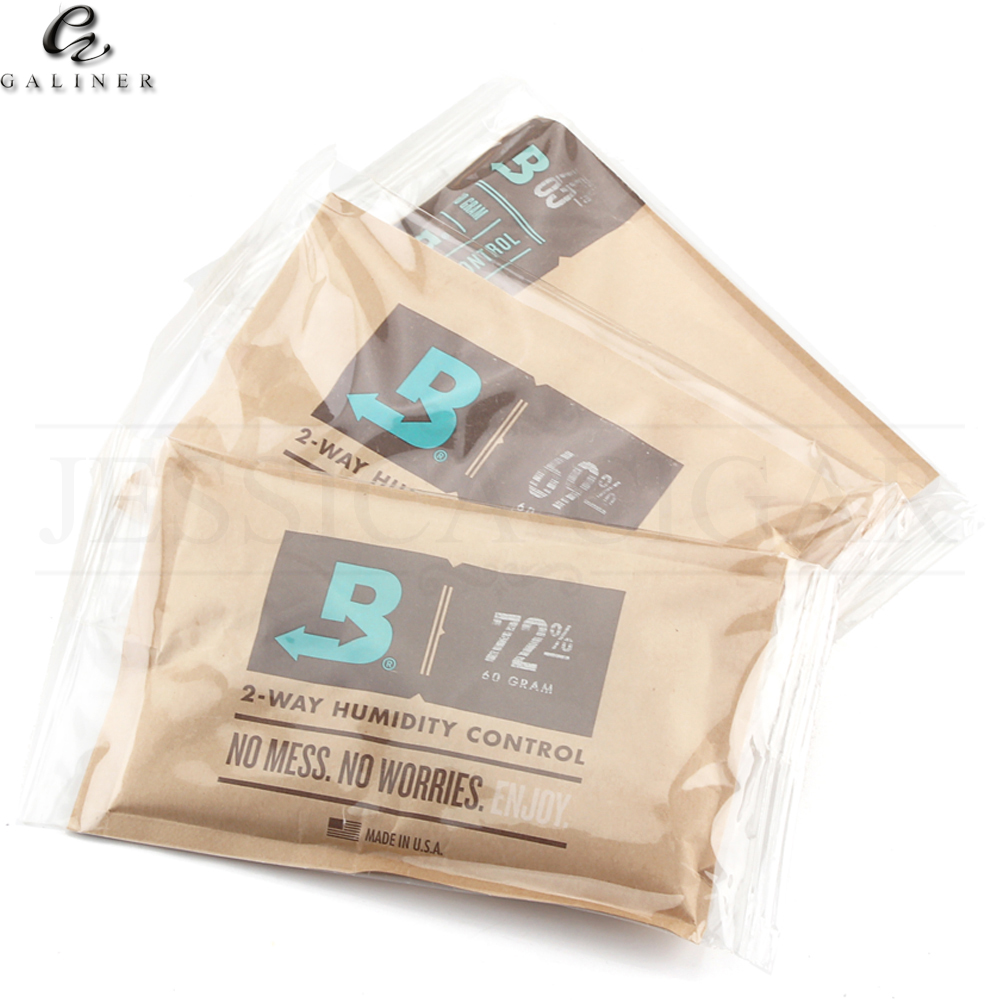 GALINER <font><b>Boveda</b></font> 8/ 60 Gram 2-Way Humidity Control Humidipak Humidifier Cigar Humidifier Bag For Cigar Humidor Humidifier 1 PC image