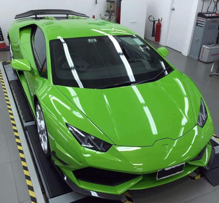Fast Deliver Z-art Full Carbon Fiber Front Lip For Lamborghini Huracan Carbon Fiber Front Splitter For Lamboghini Lp610 Lp580 Free Shipping Exterior Parts Automobiles & Motorcycles