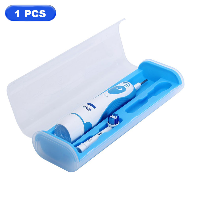 Professional Portable Electric toothbrush Travel Case for Oral B Family Use Light Plastic Holder Protective Storage Box image