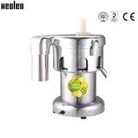 Xeoleo коммерческих соковыжималка из нержавеющей стали Juice машины, соковыжималки 220 В/110 В около 80 кг/ч соков машина Juicer