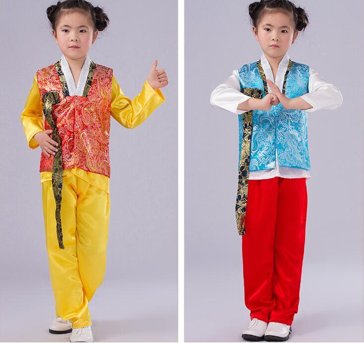 e5d0e068d red Blue Para Stage Niños Performance Ropa Tradicional Traje rojo Chico  Coreano Los Hanbok Light De Fiesta Azul fvIY7mb6gy