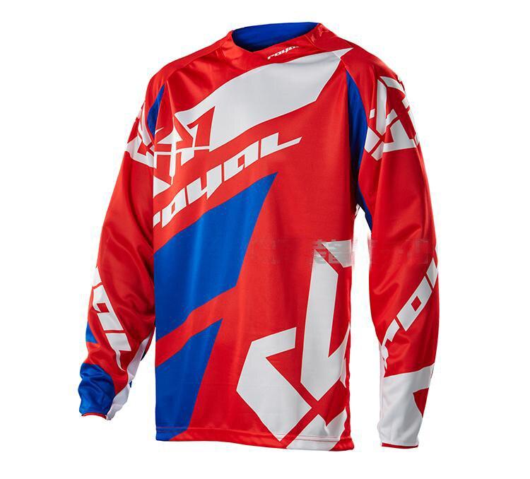 2018 спортивный топ Королевский для верховой езды Майки Ropa Мотокросс MX Camiseta горы Мотокросс Майки рубашка мотоциклетные BMX DH MTB футболка C