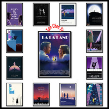 Classic movie La Land White Coated Paper posters Wall Stickers Home Decoration Art Brand