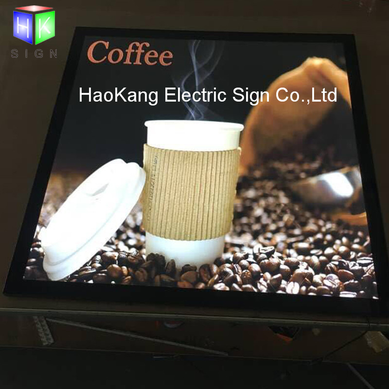 Restaurant LED Menu Advertising Light Box Display