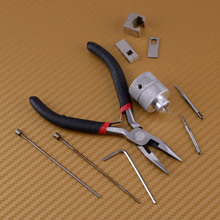 Fit Für Honda Hohe Qualität Zubehör Metall 10 stücke Auto Lgnition Lock Pin Removal Extractor Nadel Peg Puller Repair Tool kit