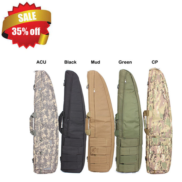f63288705f 2018 100% New Top Quality 98cm Tactical Airsoft Rifle bag Hunting Shooting  Gun Protection Bag Military Army Case Backpack