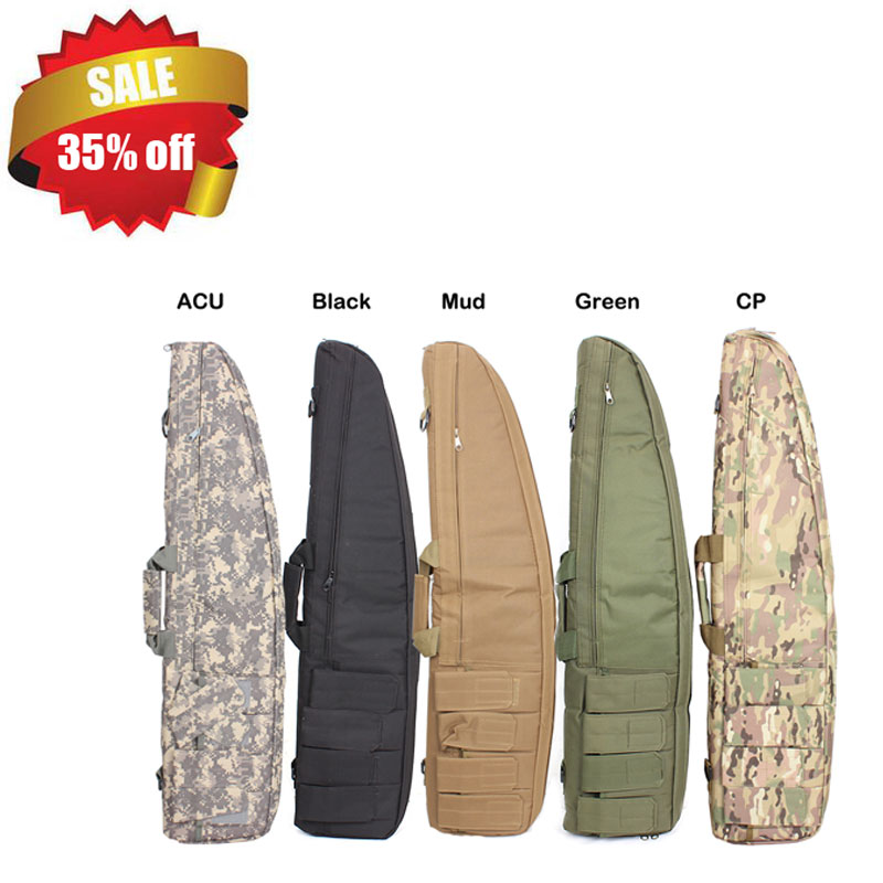 Hot Tactical Heavy Gun Slip Bevel Carry Bag For Hunting Rifle Case Shoulder Pouch Free Shipping