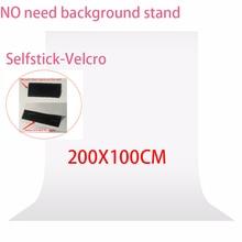 Nie ma potrzeby zestaw stojaków 2x1 metr fotografia studio ekran Chroma klucz tło włókniny zielone zdjęcie tło dla Photo Studio