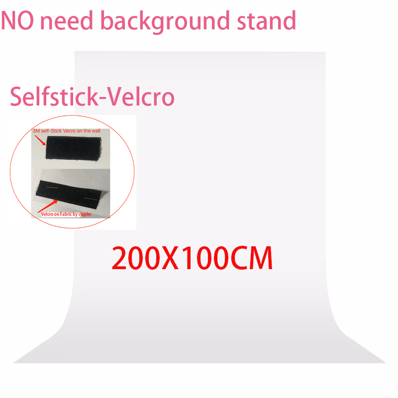 No need Stand kit 2x1meter Photography studio Screen Chroma key Backdrop Non Woven Green Photo background for Photo Studio supon 6 color options screen chroma key 3 x 5m background backdrop cloth for studio photo lighting non woven fabrics backdrop