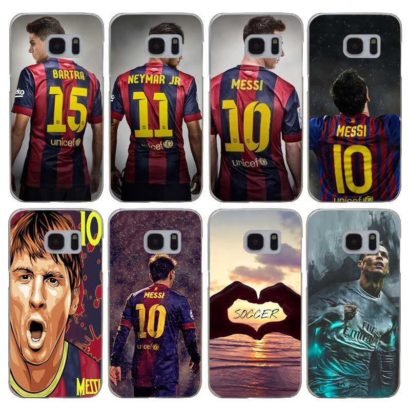 G498 Fashion Soccer Player Transparent Hard PC Case Cover For Samsung Galaxy S 3 4 5 6 7 8 Mini Edge Plus Note 3 4 5 8