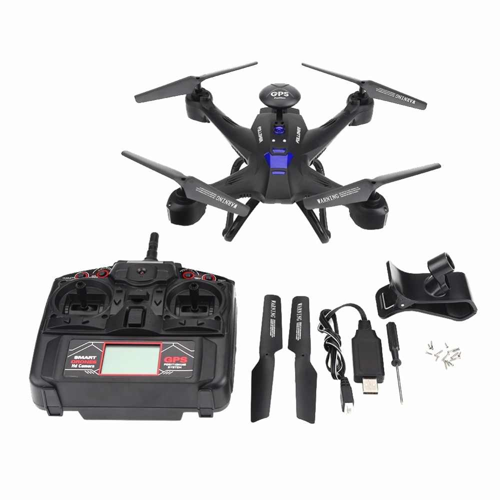 Мини RC дроны Quadcopter с 720 P Камера Wi-Fi Управление высота вместить дистанционного Управление горючего Безголовый режим вертолет