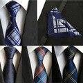 (1 шт./лот) 100% Шелковый галстук установить Мужская Шеи Галстук Карманный Площадь Набор 2016 Новый 8 см Gravata Свадебные Галстуки Для Мужчин Тонкий галстук