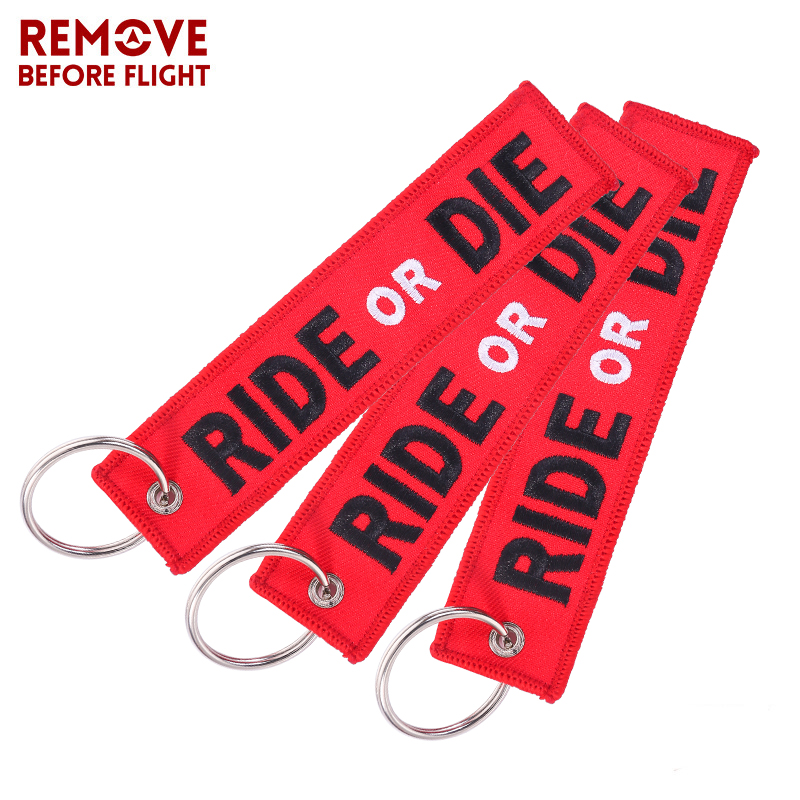 Buy 3 pcs lot key ring for cars fashion for Ride or die jewelry