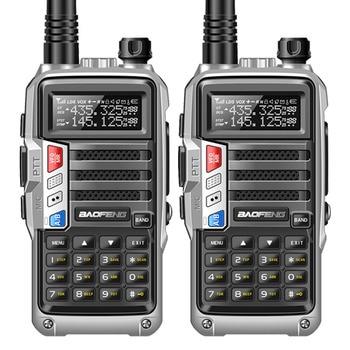 2PCS BaoFeng UV-S9 Powerful Walkie Talkie CB Radio Transceiver 8W 10km Long Range Portable Radio set for hunt forest&city telephony