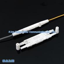 Tubulação redonda pequena do psiquiatra do calor do tubo da caixa de proteção da fibra ótica da caixa da proteção do cabo da gota de 100 pces para proteger a bandeja da tala da fibra