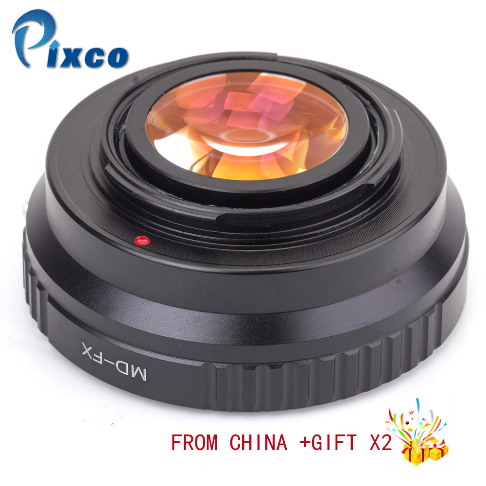 Pixco MD-FX Focal Reducer Speed Booster, Suit for Minolta MD Lens to Suit for Fujifilm X-A5 X-A20 X-A10 X-A3 X-A2 camera цена и фото