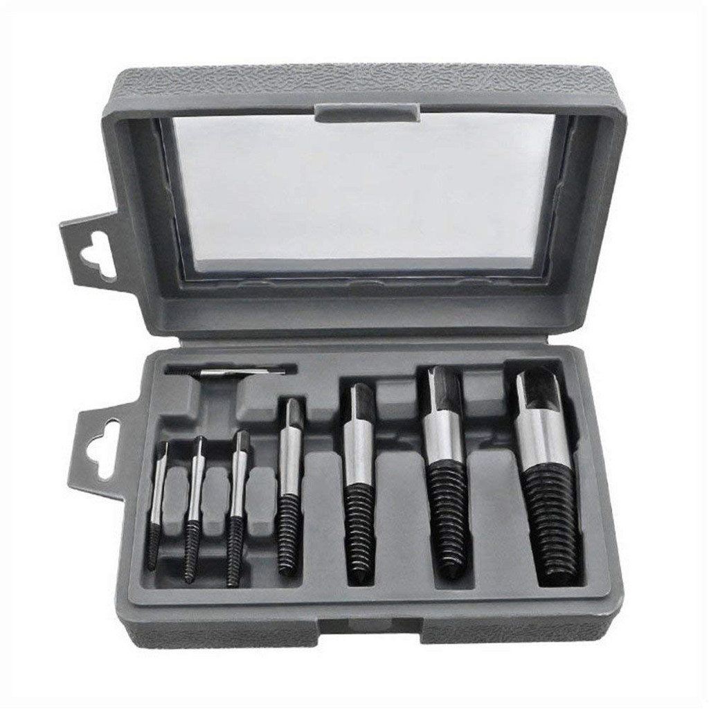 New Fashion 2019 New 8pcs/set Damaged Screw Extractor Easy Out Set Bolt Stud Remover Tools Kit Diy #nn0301 Fixing Prices According To Quality Of Products Back To Search Resultstools