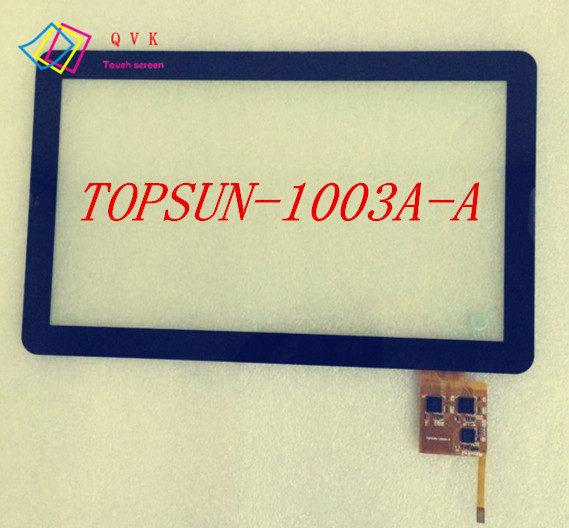 VOYO Q101 10.1inch generation multi touch screen outside screen TOPSUN-1003A-A noting size and color 9inch touch screen cable dh 0926a1 fpc080 noting size and color