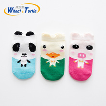 3Pcs/Lot 2019 Baby Infant Socks Newborn Cotton Boys Girls Cute Cartoon Toddler Anti-slip meia infantil calcetines