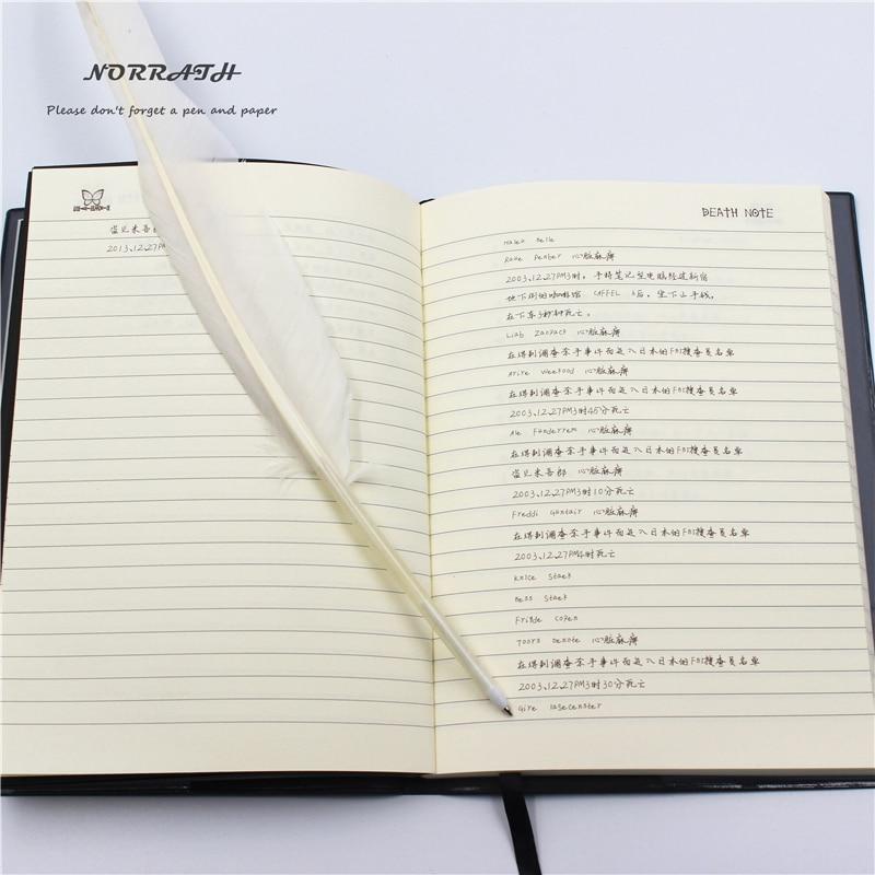 NORRATH Moda fierbinte Anime Tema Moartea Notă Cosplay Notebook Noua - Blocnotesuri și registre - Fotografie 4