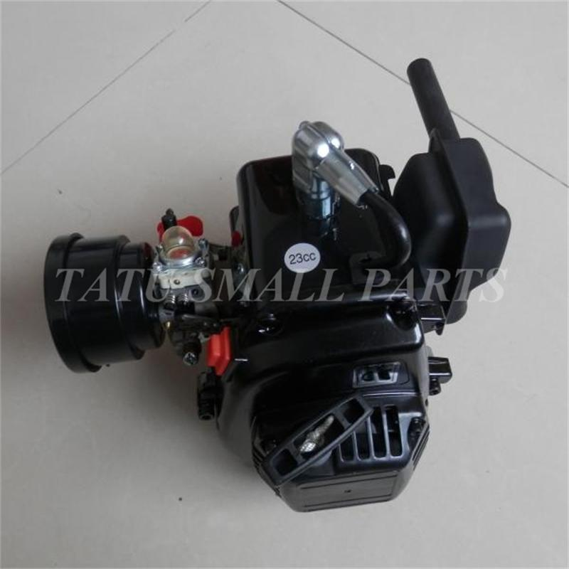 23CC GASOLINE RC ENGINE FOR HPI LOSI BAJA RCMK RCMAX DDM ZENOAH G230RC CHUNG YANG CY230RC KM KG230 etc. POWERED R/C CAR BOAT cnc aluminum water cooling jacket for 29cc zenoah engine rc boat