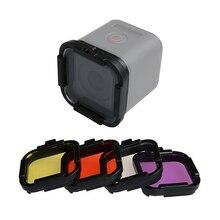 Tauchen Filter für Go Pro Hero 4 sitzung 5 sitzung Dive Filter Objektiv Abdeckung Kappe Protector für GoPro 5 4 sitzung Acessory