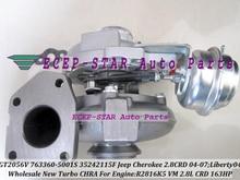 GT2056V 763360 757246 757246-0001 35242112G Turbo Turbocharger For Jeep Cherokee CRD 2004-07 Liberty 2004 R2816K5 VM 2.8L 163HP