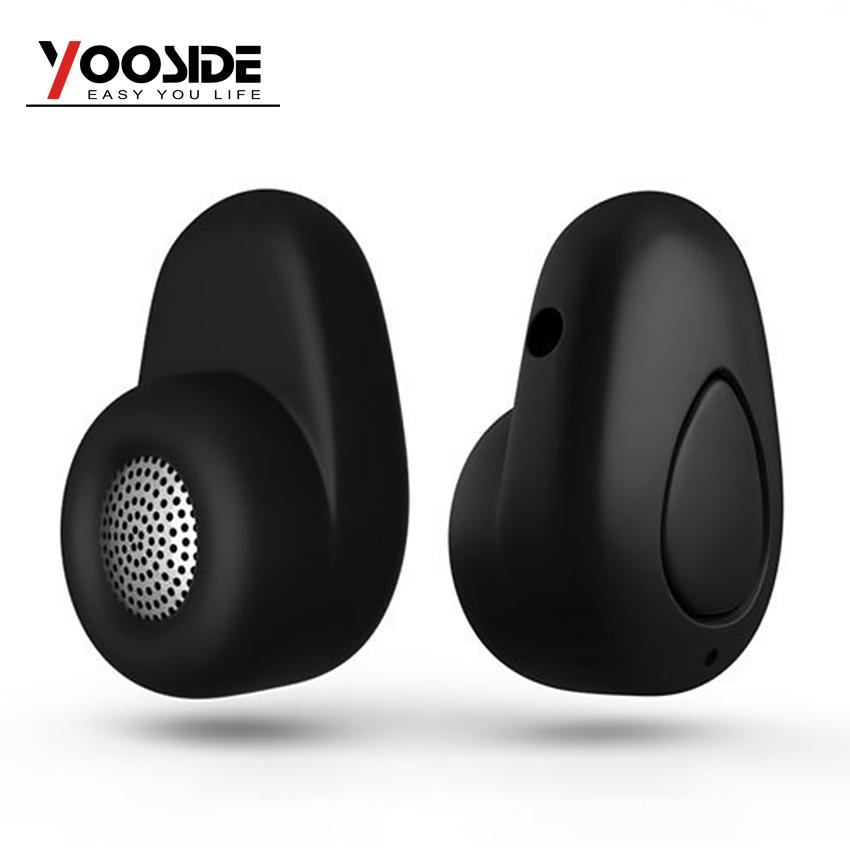 Bluetooth 4.0 Headset Wireless Earphone Mini In-Ear Earpiece for iPhone and Android Cell Phones image