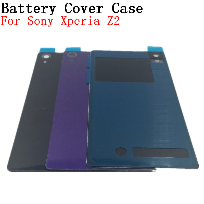 RTBESTOYZ Glass Housing D6503 Rear D6502 D6543 Mobile Phone Repair Parts Battery For Sony Xperia Z2 Back Cover Case Z 2 L50 L50w
