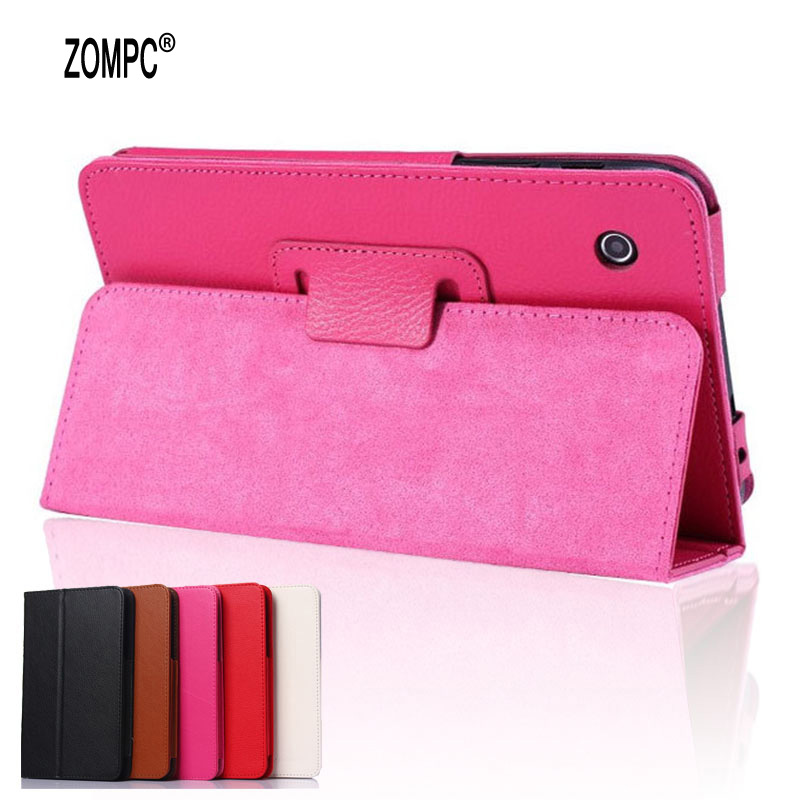 2-Folding Luxury Folio Stand Leather Case Magnetic Protective Cover For Lenovo Tab A7-30 A3300 A3300-T A3300-HV 7 Tablet