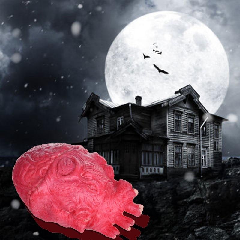 H & D 2 stks House of Terror Horrible Bloody Fake Gebroken Hart Prank - Feestversiering en feestartikelen - Foto 2