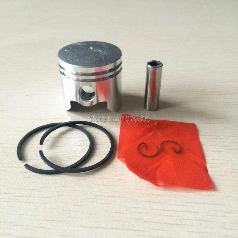 33CC 36 Set cu piston cu tăietor cu perie cu inel pentru piston pentru piese de tuns iarbă cu motor 1E36F 36MM