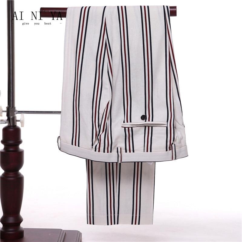Nero jacket Femminile Pezzo Lavoro Vest Vest Pants jacket Pants Sottile Jacket Tailleur 3 Rosse Donna Signore D'ufficio D'affari Di Bianche jacket Vestiti Adatta Si Abito Pantalone Formale Strisce WSYFRqFP