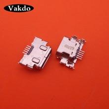 ccf1f885a86 1pcs/lot Micro mini USB Charging port jacks socket Connector 5pin 5.0 INCH for  Asus zenfone2 LTE ZE500CL Z00D x920e Tail Repair