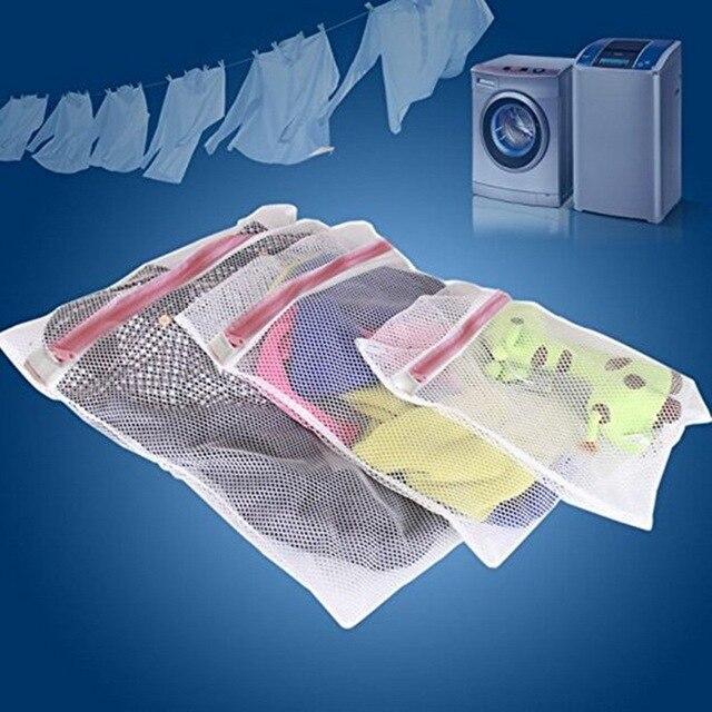 Cysincos Roupas Underwear Bra Saco de Lavagem Saco de Roupa de Malha Net Bolsa de Lavagem Saco De Armazenamento Cesto de roupa suja Para Máquina De Lavar Roupa máquina de Lavar