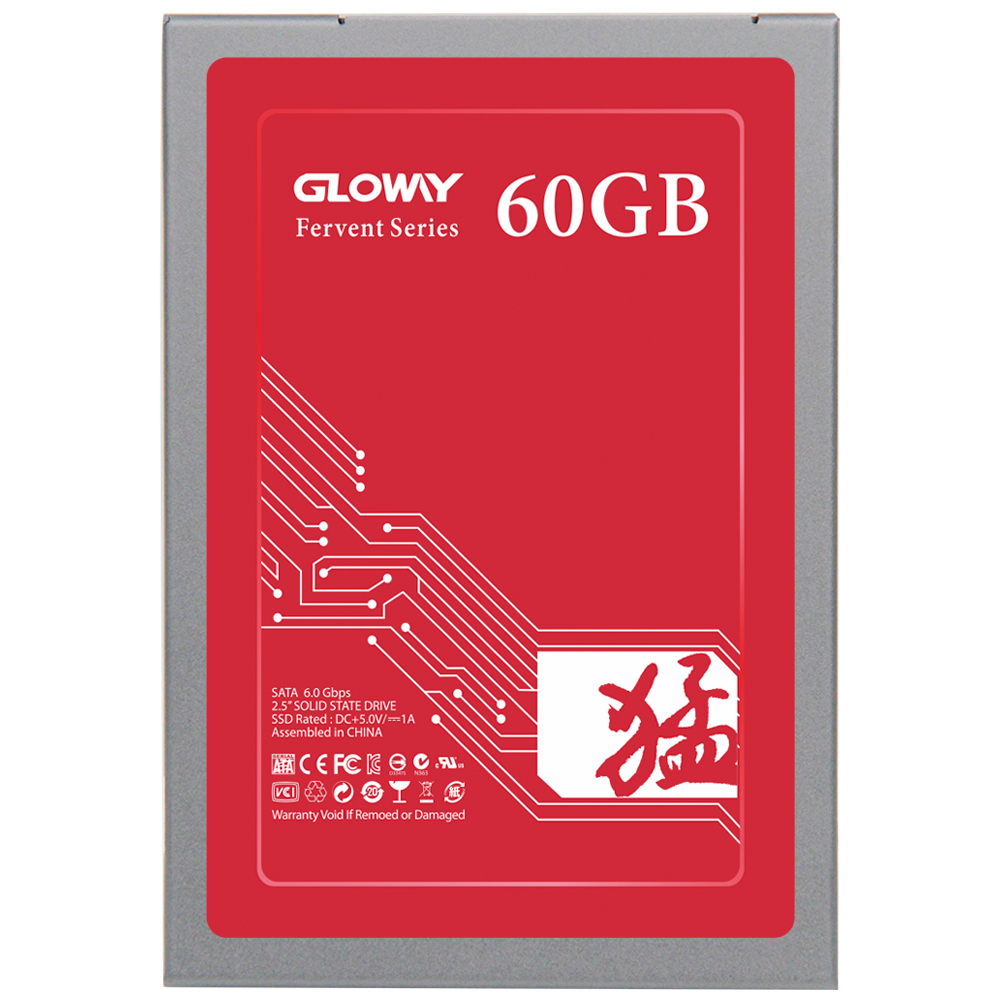 Gloway Promotion solid state disk 2.5 ssd 60gb sata SSD / 60 gb SSD for desktop/laptop computer internal ssd 60g free shipping! 512g ssd hard disk solid state ssd sata ssd solid state thin client computer in stock big promotion