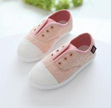 2016 new models fashion casual princess shoes child breathable canvas sneakers Korean version Boys shoes Girls sports shoes