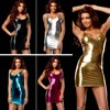New 9 Color Sexy Lingerie Hot Women Imitation Leather Skirt Teddy Club Sexy Costume Erotic Lingerie