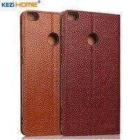 Case For Xiaomi Mi Max 2 KEZiHOME Genuine Leather Flip Stand Leather Cover For Xiaomi Mi