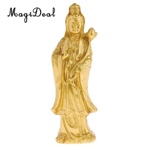 Avalokiteshvara Buddha Statue Tibetan Ornaments Crafts Home Decoration Buddhist Supplies Bless Safe Good Luck Protection