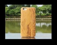 במבוק באיכות גבוהה חזרה case עבור iphone 6/6s 100% כיסוי אחורי ל4 iphone6 טבעי/6 s 4.7