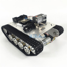 Shock Absorber Tank TS100, with Video Controller kit:NodeMCU,mini Router,HD Camera,smart monitor car,RC tank fans,DIY Autopilot(China (Mainland))