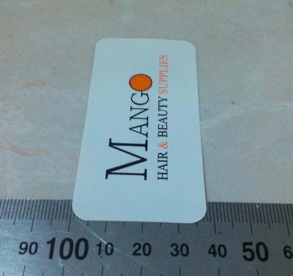 Изготовленный на заказ ярлык пластиковая карта полноценная цветная печать на глянцевая бумага, вам определиться с размером, пункт No. CU06