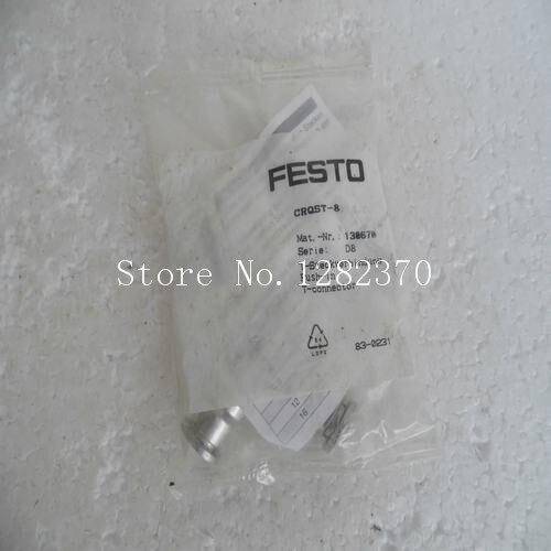 [SA] New original authentic special sales FESTO gas fitting CRQST-8 spot 130670 --2pcs/lot[SA] New original authentic special sales FESTO gas fitting CRQST-8 spot 130670 --2pcs/lot