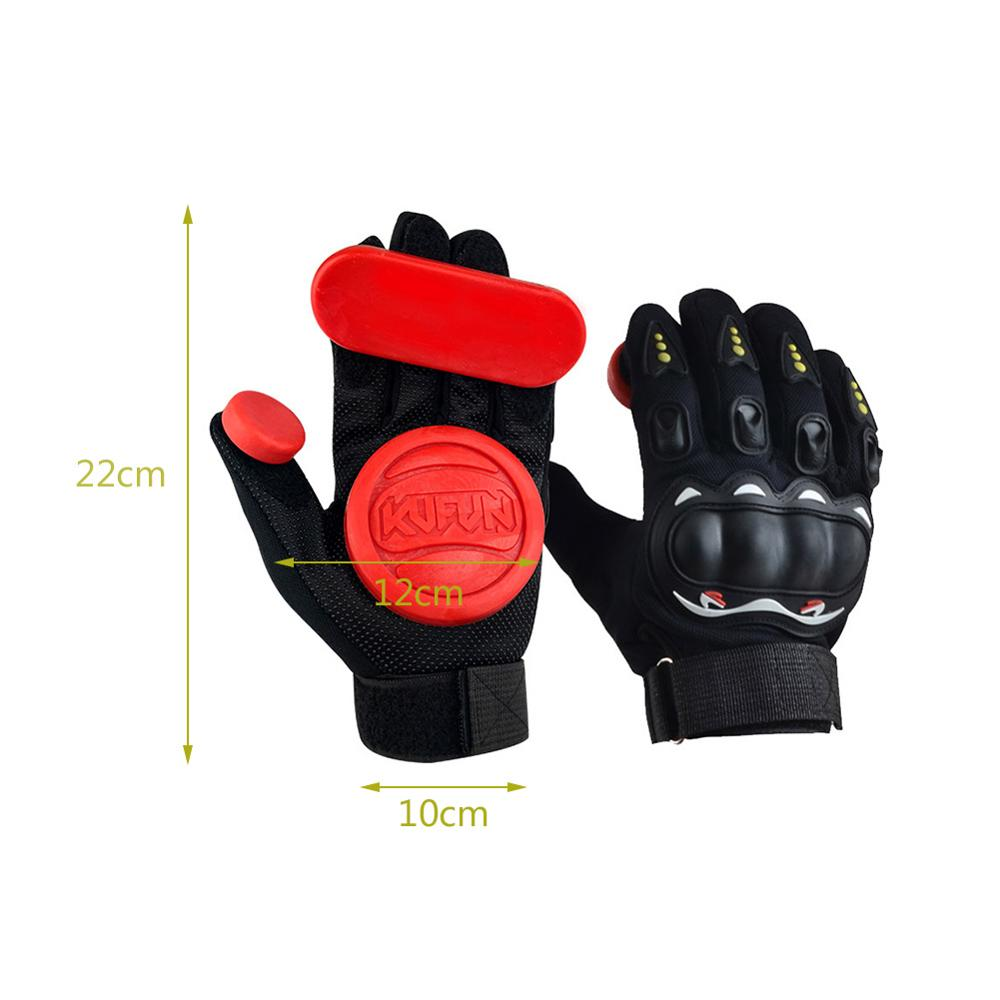 Slide Gloves Fire Stone Flint Sparks Longboard Gloves Protective Gear 1