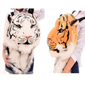 Tigre cabeça do tigre mochila brinquedo de pelúcia bolsa de ombro Mochilas De Pelúcia brinquedo para adultos presente
