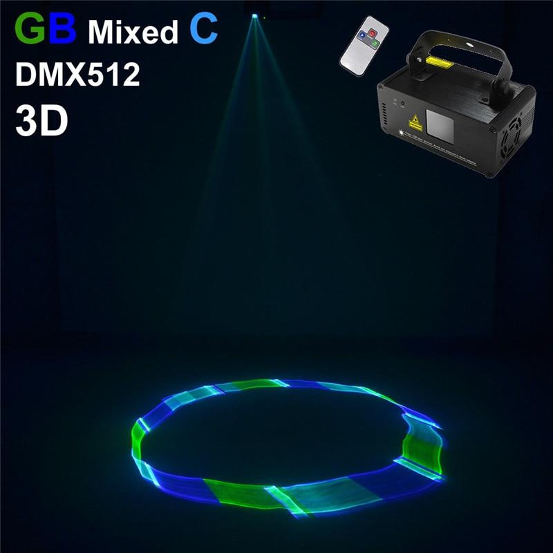 AUCD Mini 8 CH DMX Remote Sound Green Blue Cyan GBC Laser Scanner Lights DJ KTV Disco Party Home Show Stage Lighting TDM-GBC250 ламинатор gbc fusion 1000l a4 black