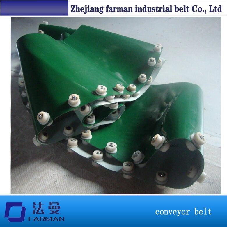 180 degree conveyor belt 45 degree conveyor belt 90 degree curve conveyor belt punching holes egg conveyor belt